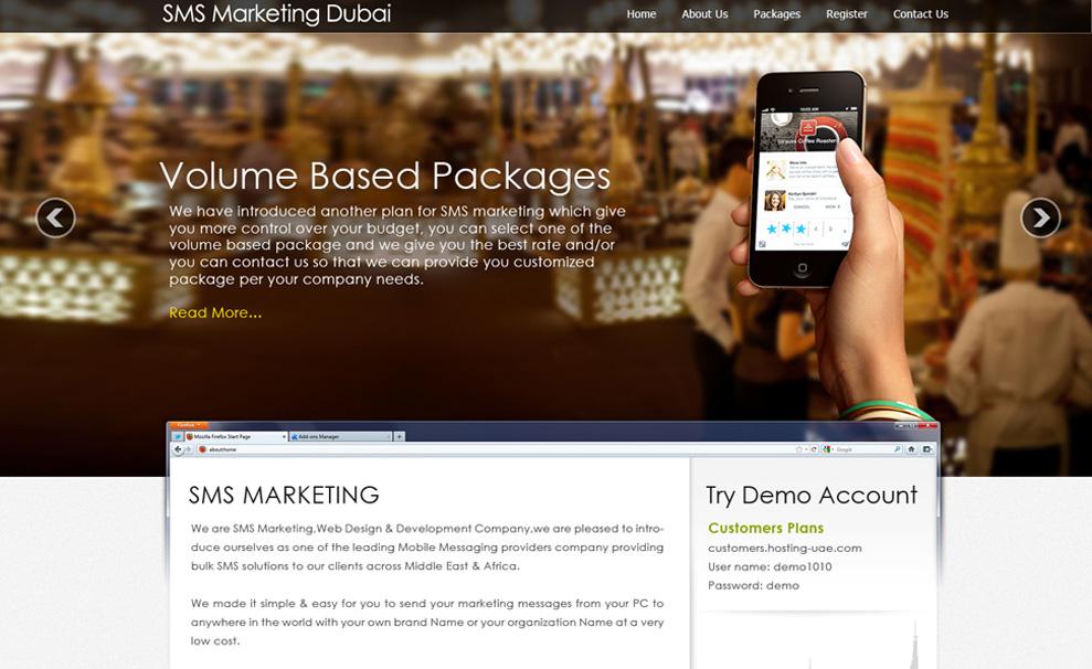 SMS Marketing Dubai – Vertilex Web Design